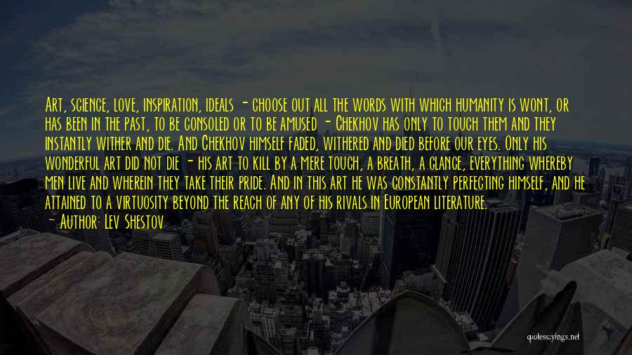 Live Or Die Quotes By Lev Shestov