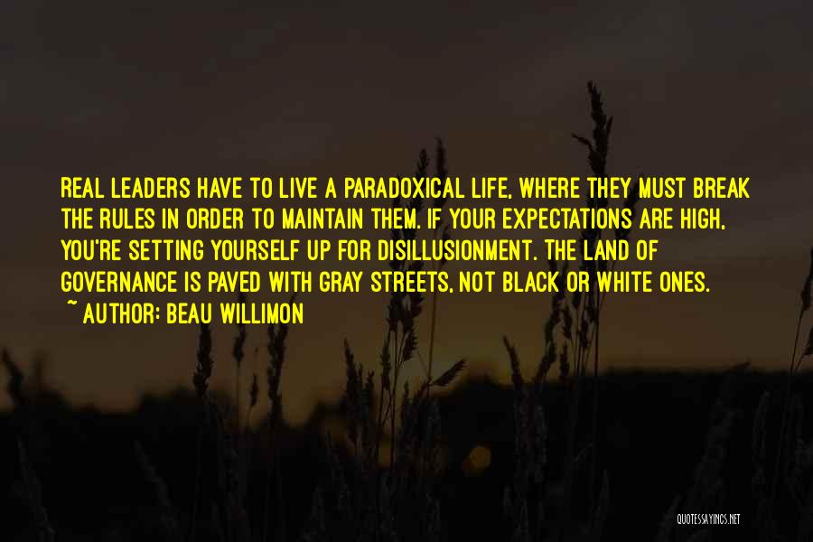 Live Up To The Expectations Of Others Quotes By Beau Willimon