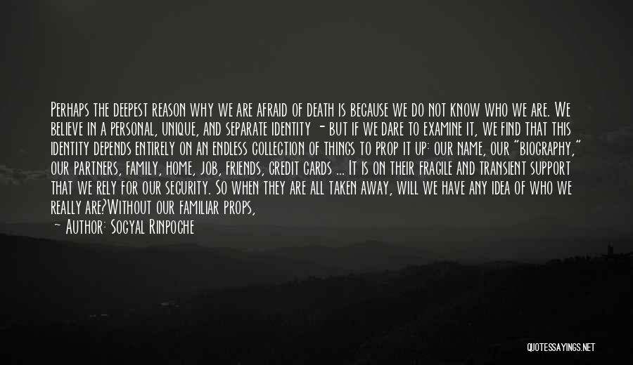 Living Away From Family Quotes By Sogyal Rinpoche