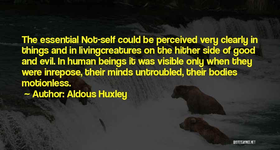 Living Creatures Quotes By Aldous Huxley