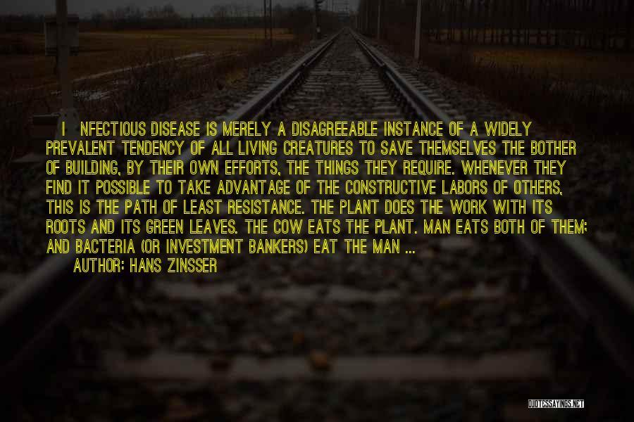 Living Creatures Quotes By Hans Zinsser