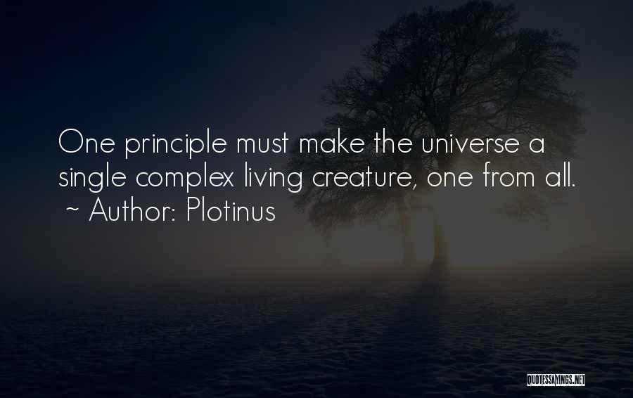 Living Creatures Quotes By Plotinus