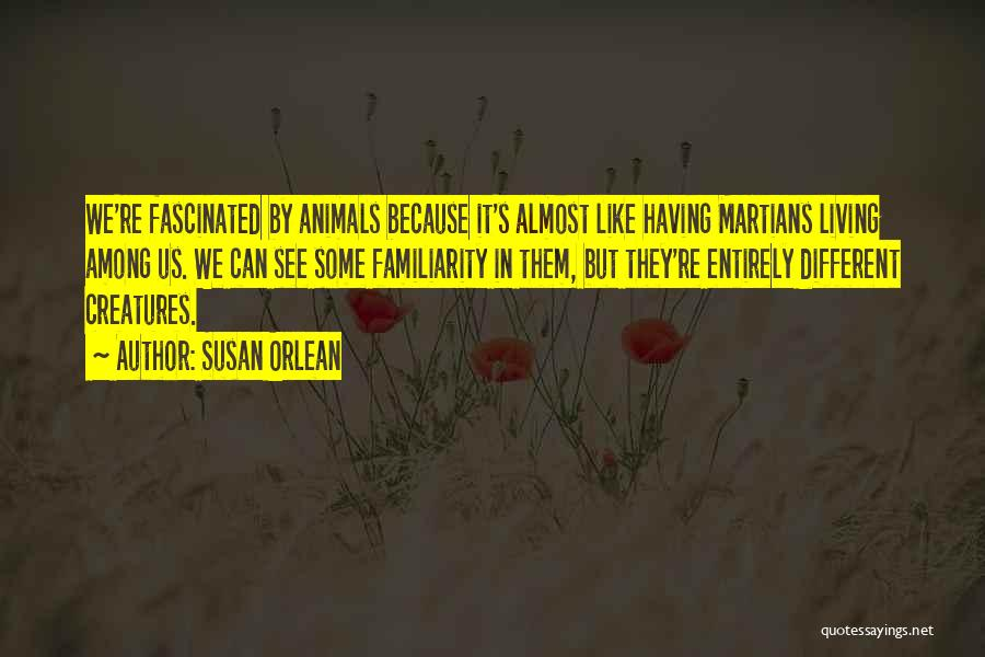 Living Creatures Quotes By Susan Orlean