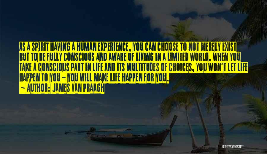 Living Life Fully Quotes By James Van Praagh