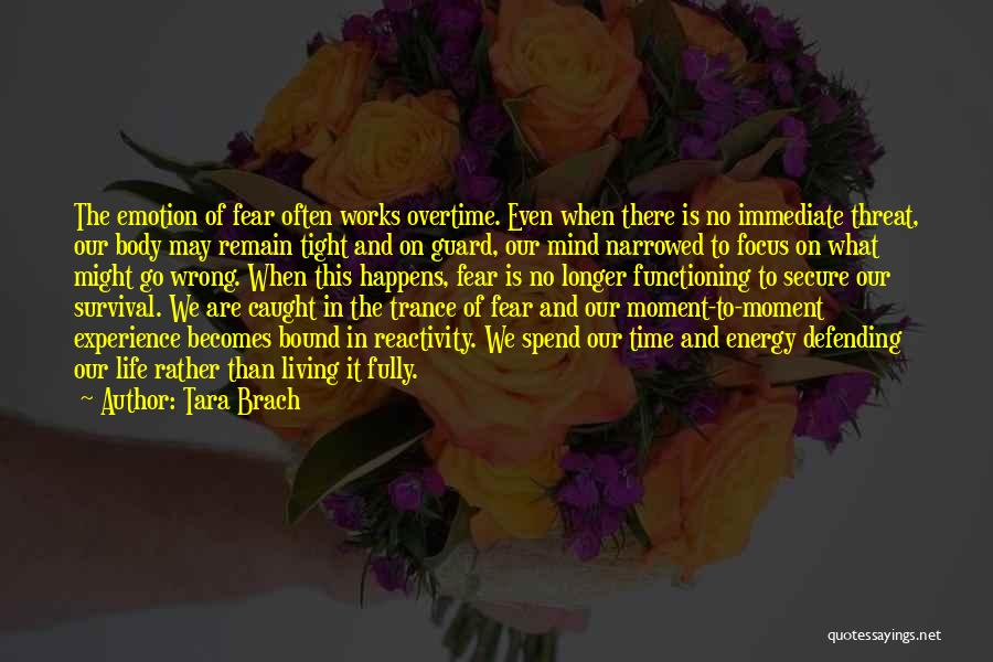 Living Life Fully Quotes By Tara Brach