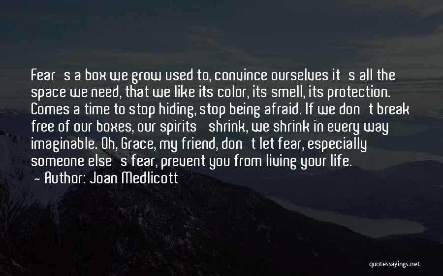 Living Life Your Way Quotes By Joan Medlicott