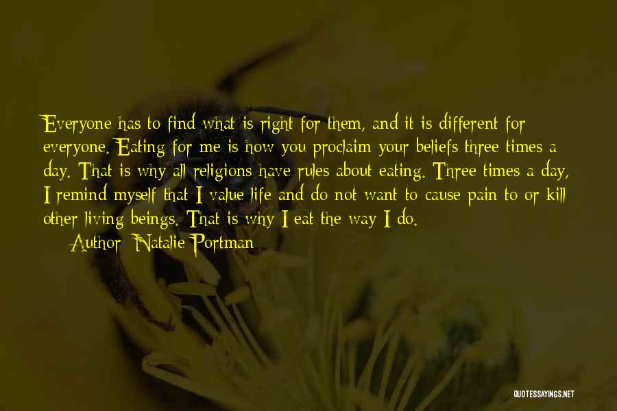 Living Life Your Way Quotes By Natalie Portman