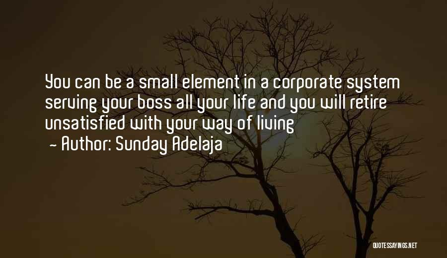 Living Life Your Way Quotes By Sunday Adelaja
