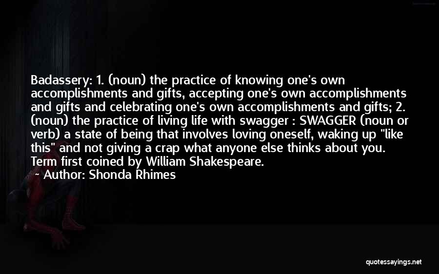 Living One's Own Life Quotes By Shonda Rhimes
