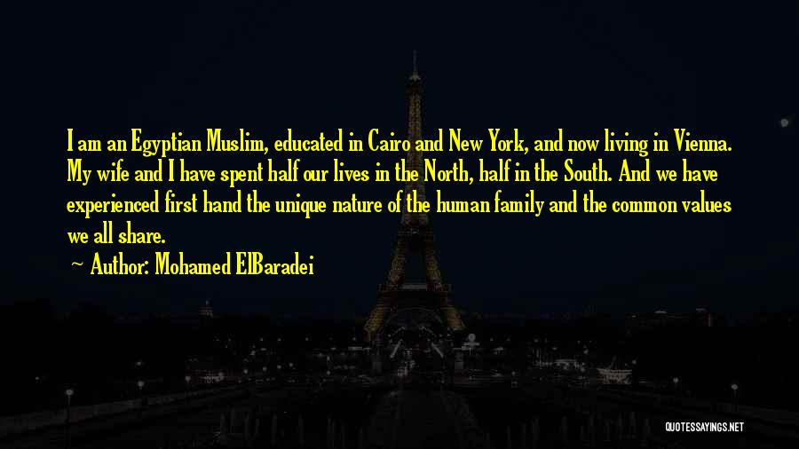 Living Our Values Quotes By Mohamed ElBaradei