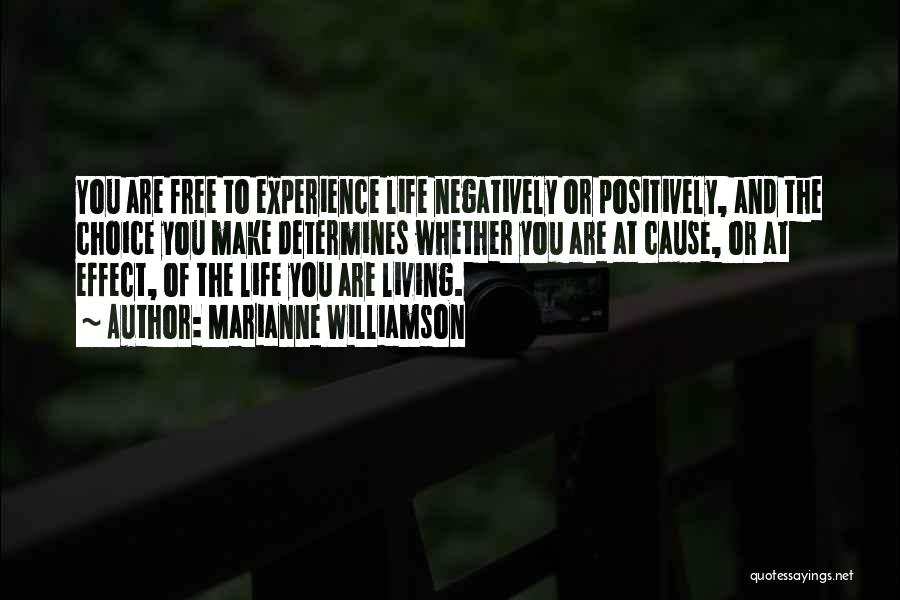 Living Positively Quotes By Marianne Williamson