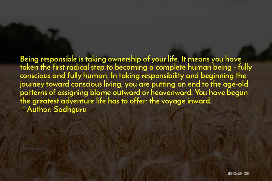 Living To An Old Age Quotes By Sadhguru