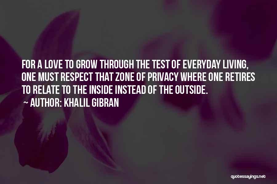 Living To Love Quotes By Khalil Gibran