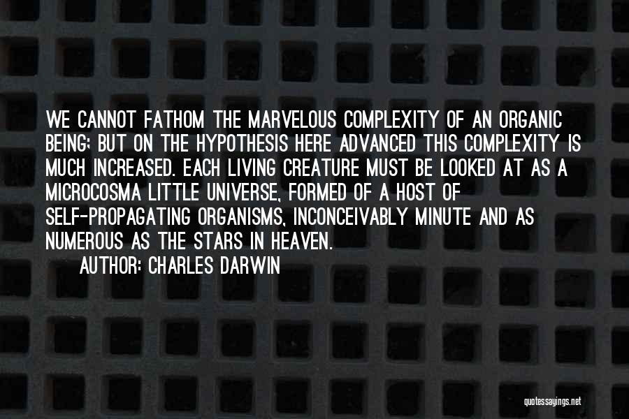 Living With Complexity Quotes By Charles Darwin