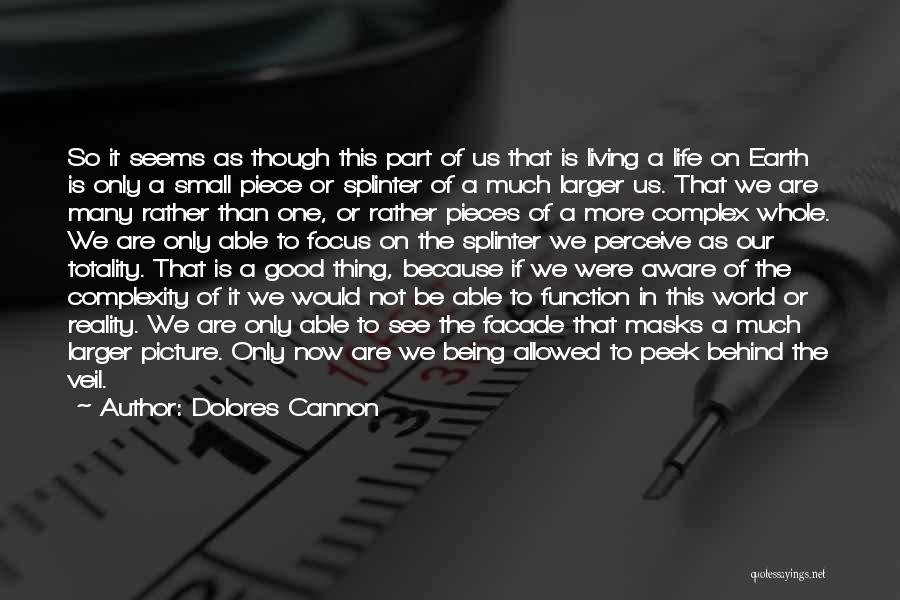 Living With Complexity Quotes By Dolores Cannon