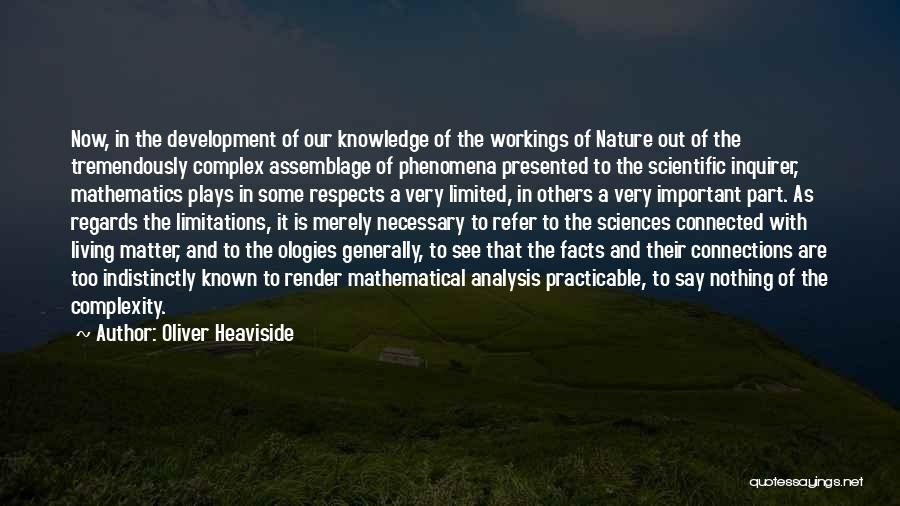 Living With Complexity Quotes By Oliver Heaviside