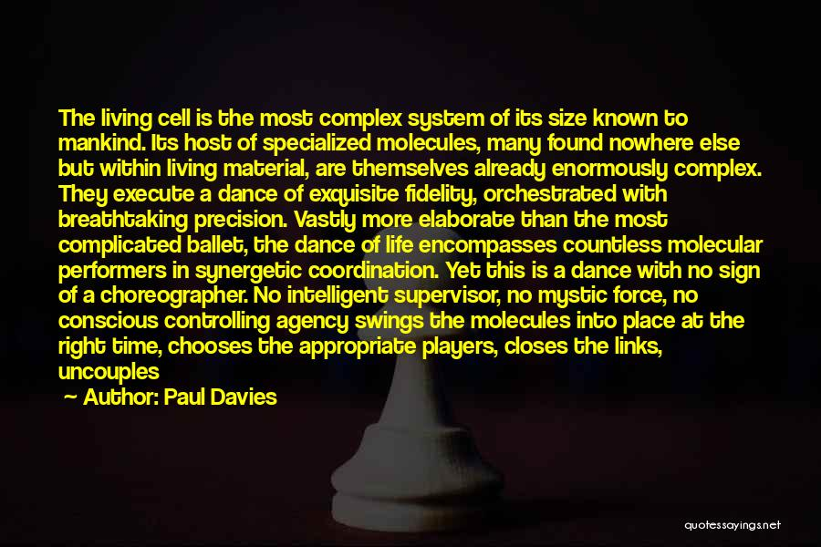 Living With Complexity Quotes By Paul Davies