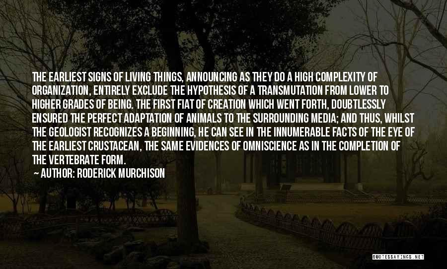 Living With Complexity Quotes By Roderick Murchison