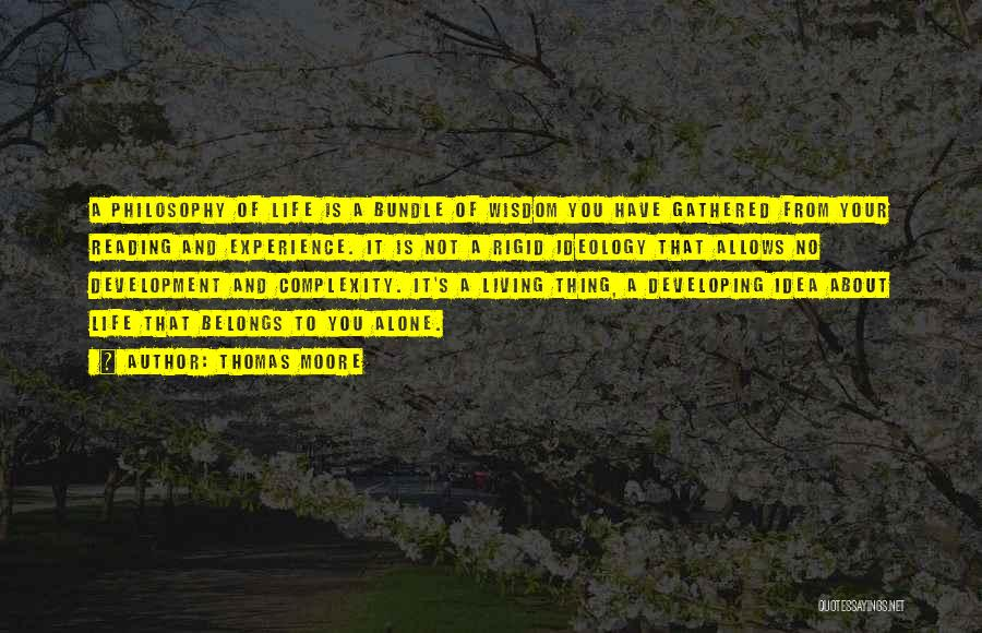 Living With Complexity Quotes By Thomas Moore
