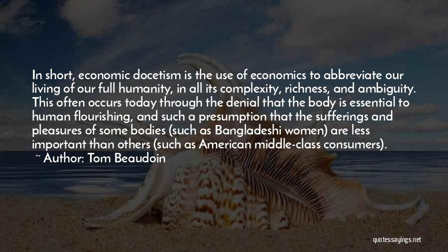Living With Complexity Quotes By Tom Beaudoin