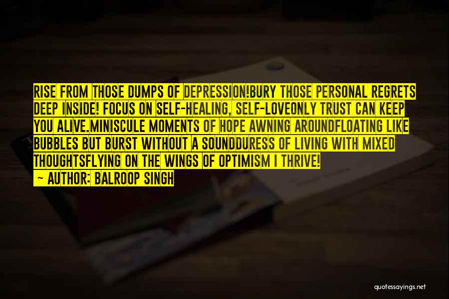 Living Without You Quotes By Balroop Singh