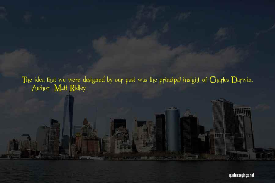 Living Without You Quotes By Matt Ridley
