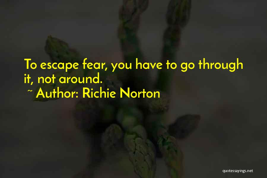 Living Without You Quotes By Richie Norton