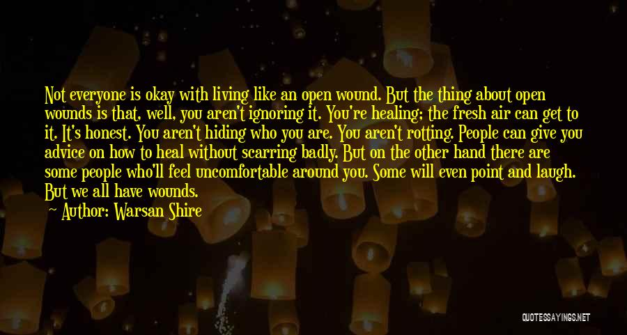 Living Without You Quotes By Warsan Shire