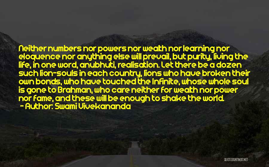 Living Your Life For Someone Else Quotes By Swami Vivekananda