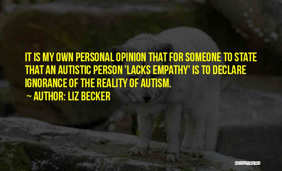 Liz Becker Quotes 1897588