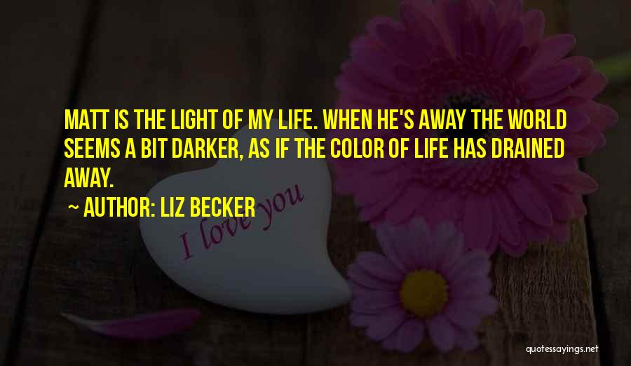 Liz Becker Quotes 950620