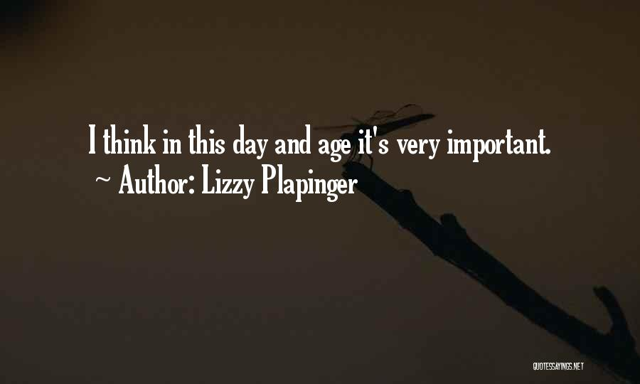 Lizzy Plapinger Quotes 1865416