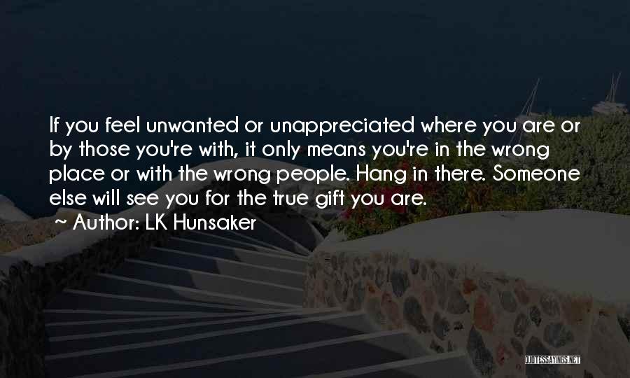 LK Hunsaker Quotes 822557