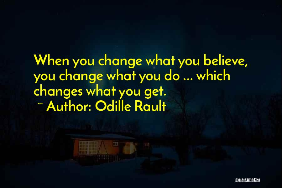 Loa Inspirational Quotes By Odille Rault