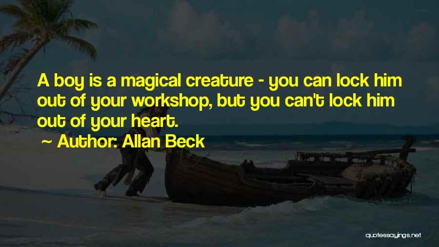 Lock Heart Quotes By Allan Beck