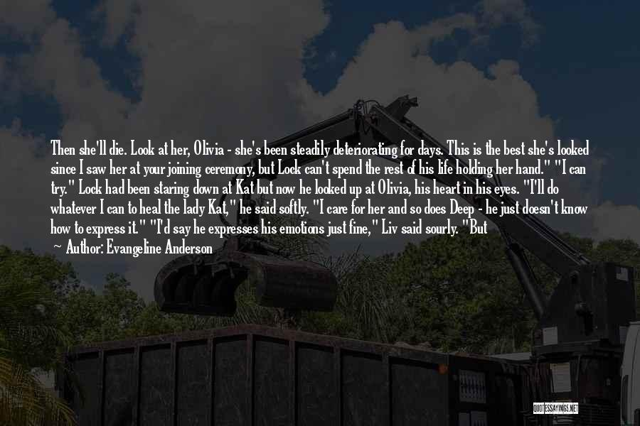 Lock Heart Quotes By Evangeline Anderson