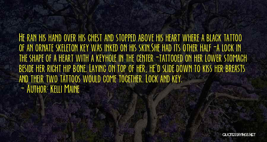 Lock Heart Quotes By Kelli Maine
