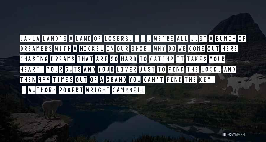 Lock Heart Quotes By Robert Wright Campbell