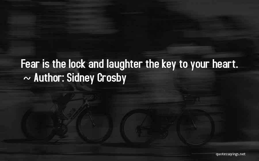 Lock Heart Quotes By Sidney Crosby