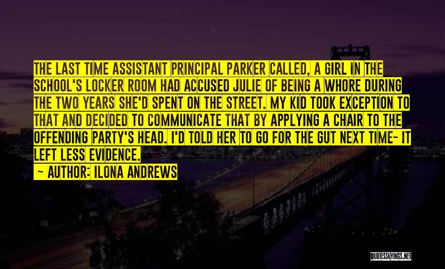 Locker Room Quotes By Ilona Andrews