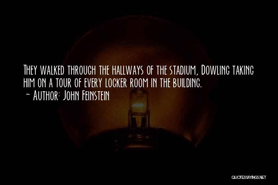 Locker Room Quotes By John Feinstein