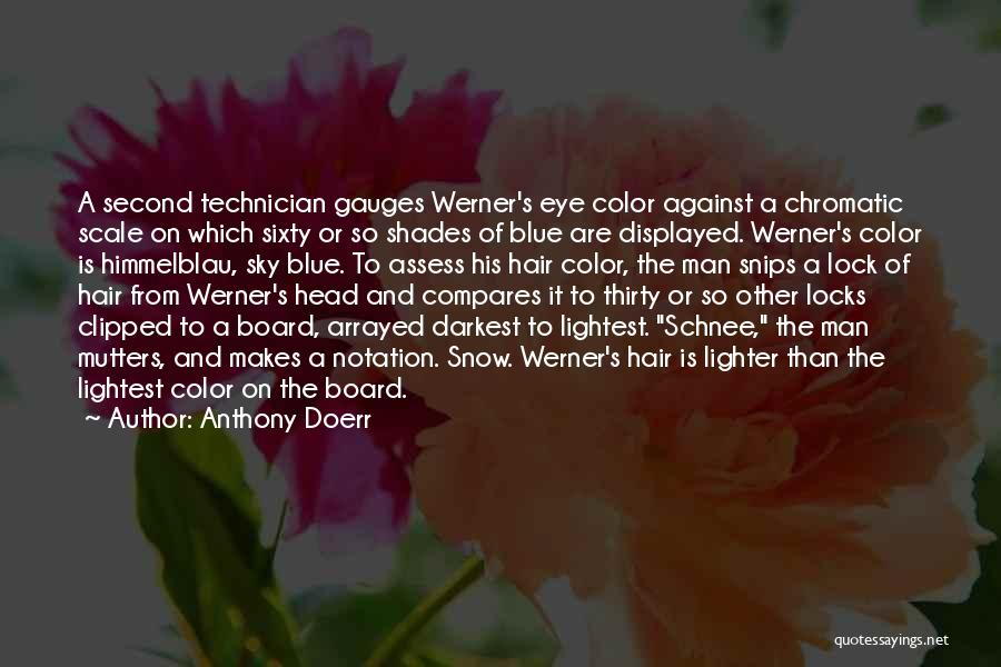 Locks Of Hair Quotes By Anthony Doerr