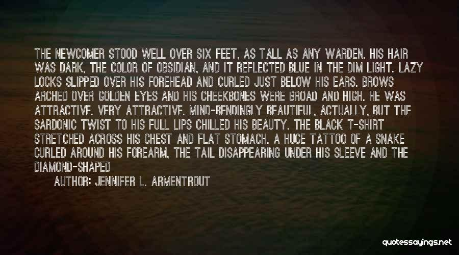 Locks Of Hair Quotes By Jennifer L. Armentrout