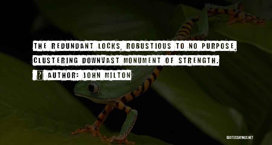 Locks Of Hair Quotes By John Milton