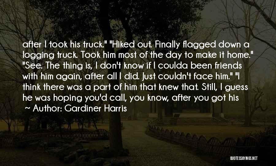 Logging Truck Quotes By Gardiner Harris