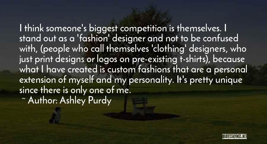 Logos Quotes By Ashley Purdy