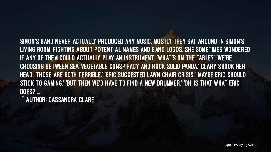 Logos Quotes By Cassandra Clare