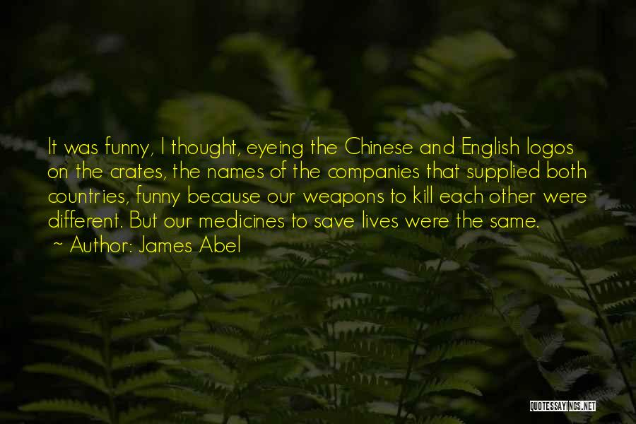 Logos Quotes By James Abel