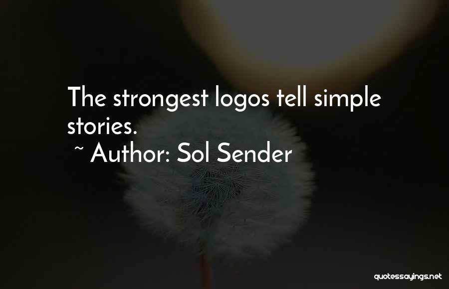 Logos Quotes By Sol Sender