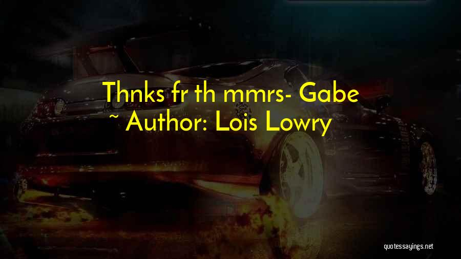 Lois Lowry Quotes 1014376